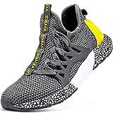 Zapatillas de Running para Unisex Niños Gimnasia Ligero Running Atletismo Sneakers Niñas Gris Oscuro,29 EU