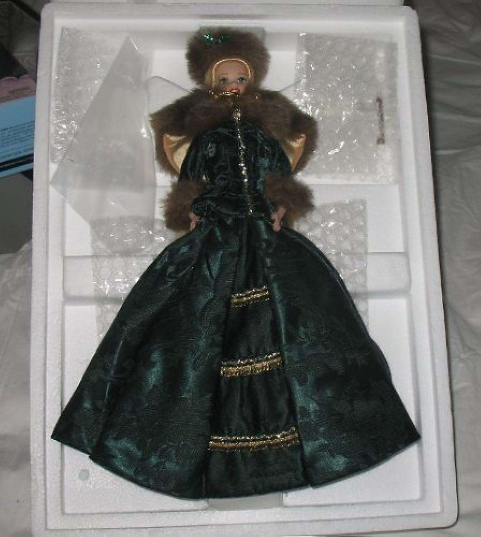 Barbie  Holiday Caroler Doll  Holiday Porcelain Barbie Collection  1996 Mattel