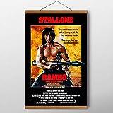Arter Scroll-Wand-Poster-Malerei, Film Rambo erstes Blut,