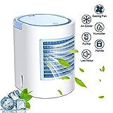 Portable Refroidisseur d'air Mini 4 En 1 Mobile Climatiseur Personnel Silencieux...