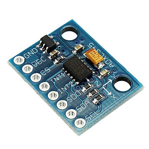 Condensadores GY-291 ADXL345 de 3 Ejes Gravedad de inclinación del módulo del Sensor de aceleración Digital for 10pcs