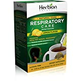 Herbion Naturals Respiratory Care Granules Lemon 10 Sachets .19 Oz