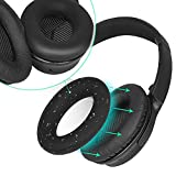 SOULWIT Ear Pads Cover Protectors, Compatible with Bose QuietComfort 15 QC15 QC25 QC2 QC35/ Ae2 Ae2i Ae2w SoundTrue & SoundLink Headphones, Thinner Silicone, Sweatproof, Easily Washable (Black,1 pair)