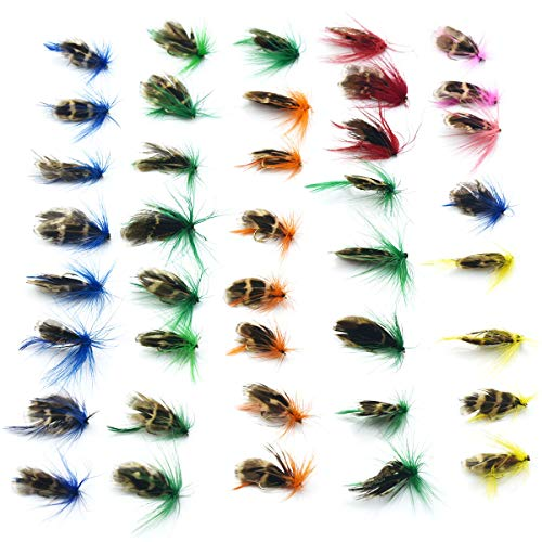 Ybxjges Fly Fishing Fly Set 32 Piece Set Handmade Fly Fishing Bait Streamer The Best Fly Fishing Bait Suitable for Fly Fishing Small Fish