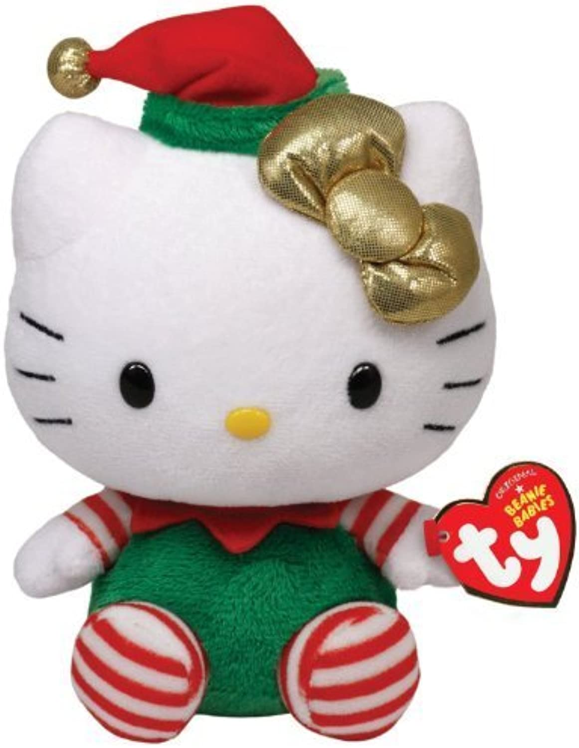 muchas sorpresas Ty Beanie Babies Beanie Beanie Beanie Babies Hello Kitty Hello Kitty - verde Christmas Outfit - official product parallel imports (japan import) by Ty  60% de descuento