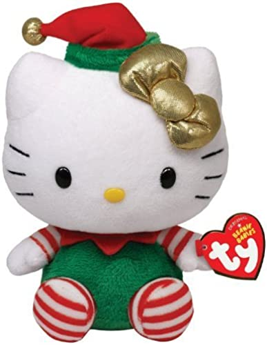 Sin impuestos Ty Beanie Beanie Beanie Babies Beanie Babies Hello Kitty Hello Kitty - verde Christmas Outfit - official product parallel imports (japan import) by Ty  liquidación hasta el 70%