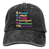 New Happy Camper Unisex Baseball Cap Cotton Denim Adjustable Golf Caps for Men Or Women