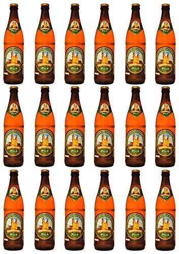 Brauerei Trunk - Nothelfer Pils (18 Flaschen) I Bierpaket von Bierwohl
