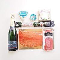 築地魚群 シャンパン&贅沢おつまみセット 「シルバー」 冷蔵便
