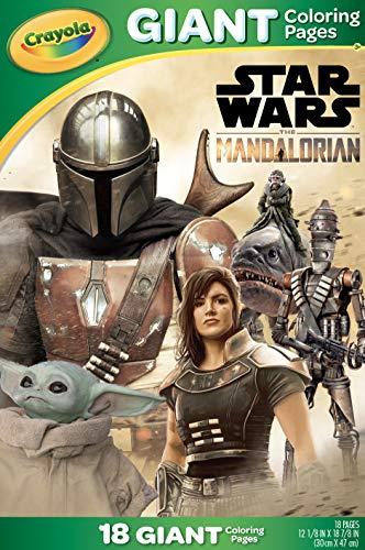 Crayola Star Wars Mandalorian Giant Coloring Pages