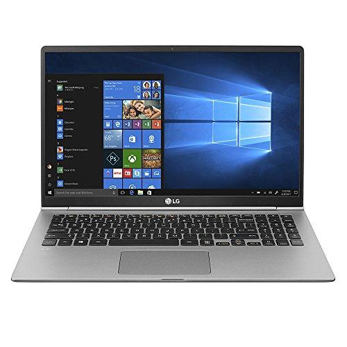 """LG gram Thin and Light Laptop - 15.6"""" Full HD IPS Display, Intel Core i5 (8th Gen), 8GB RAM, 256GB SSD, Back-lit Keyboard - Dark Silver - 15Z980-U.AAS5U1"""
