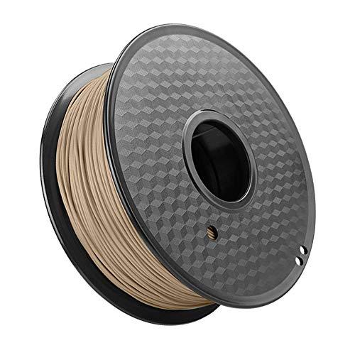 PLA-Holzfilament 1,75 mm, 3D-Druckerfilament 1 kg, natürliches Holzpulver hinzugefügt-Gelbes Holz
