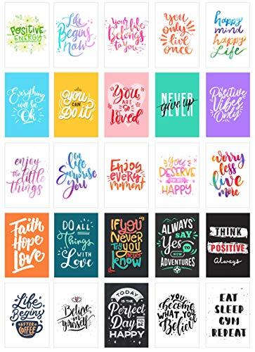 Edition Seidel Set 25 Postkarten Leben & Momente mit Sprüchen - Karten mit Spruch - Geschenk - Dekoidee, Liebe, Freundschaft, Leben, Motivation, Geburtstagskarten Bilder Bild Englisch