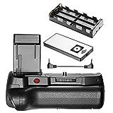 Neewer Poignée d'Alimentation avec Déclencheur à Distance Infrarouge, Compatible avec Batterie LP-E10 pour Canon 1100D 1200D...