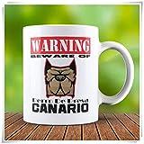 Perro De Presa Canario Mug - Cute Dog Mug - Dog Lover Gift - Dog Lover, 11oz Ceramic Coffee Mug/Cup/Drinkware, High Gloss