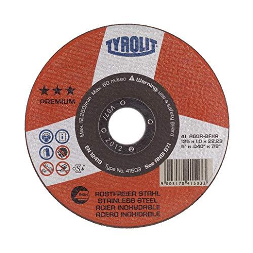 Tyrolit 41500 Trennscheibe gerade Premium, Inox Form 41, 230 mm x 2.0 mm
