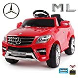 *Soft-Start* Original Mercedes-Benz ML 4x4 4MATIC 350 SUV Lizenz Kinderauto...