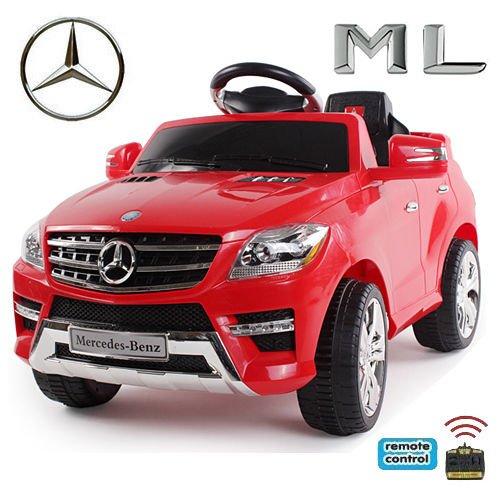 Original Mercedes-Benz ML 4x4 4MATIC 350 SUV Lizenz Kinderauto Kinderfahrzeug (ROT)*