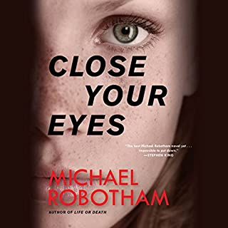 Close Your Eyes audiobook cover art