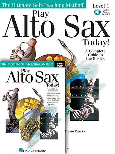 Play Alto Sax Today! Beginner's Pack: Book/Online Audio/DVD Pack (SAXOPHONE)