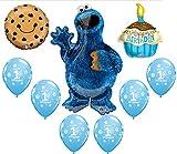 9 pc. Cookie Monster Cupcake Sesame Street...