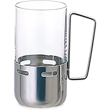 アデリア ホルダー付きグラス 240ml 口部強化 H・AX トレビアン A型 ホルダー付グラス8 日本製 M-6158