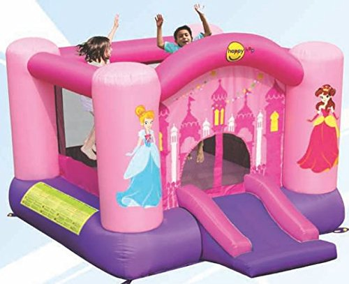 Happy Hop-9201P Princess Slide And Hoop Bouncer,...