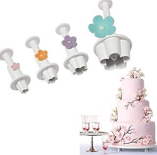 4X WEDDING TIER CAKE PLUNGER CUTTER BIRTHDAY DECORATING TOOL SUGAR CRAFT FI