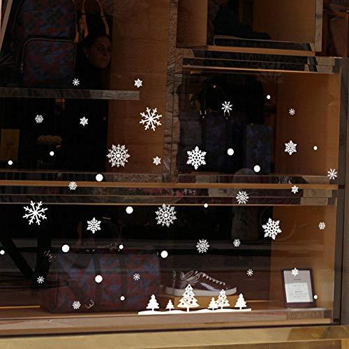 Sticker mural Flocon De Neige Décoration De Noël Accessoires De Décoration Décorations De Noël Home Papel De Parede