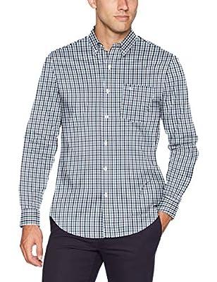 Dockers Men's Long Sleeve Button-up Perfect Shirt