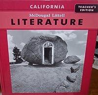 California Literature Grade 7 Teacher Edition 0618983945 Book Cover