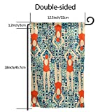 Garden Flag Banner 12.5 X 18 Inch Swimmers Pattern Decorative Garden Flag for Outdoor Lawn and Garden Home D¨¦cor Double-Sided