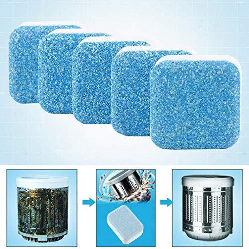 ZYYIN Waschmaschine Reiniger, Tiefe Reinigung Entfernen Schmutz Geruch Solide Brausetabletten, Reinigung Tabletten Für Waschmaschine Geschirrspüler Badewanne
