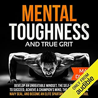 Mental Toughness and True Grit audiobook cover art