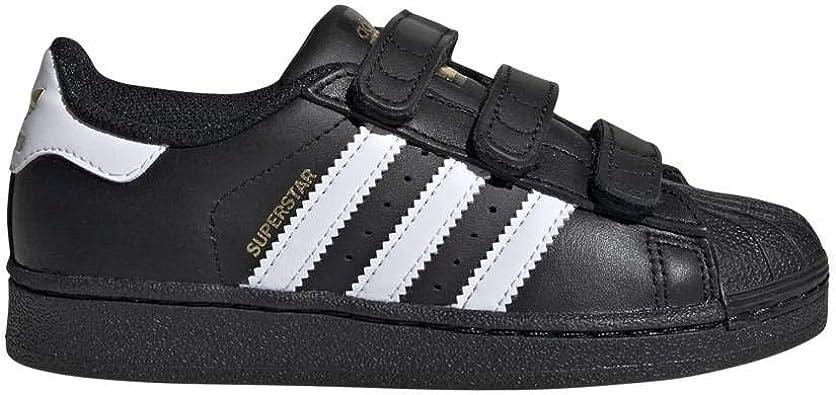 adidas Originals - Chaussures 'Superstar Foundation', de Sport - B26071 - Taille EUR 34 - Couleur Noir et Blanc