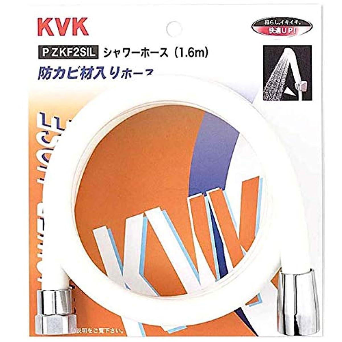 鮮やかな受け入れた主張KVK シャワーホース 白 1.45m PZKF2SI