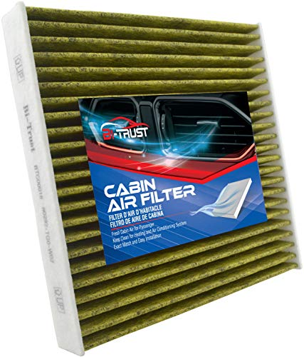 Bi-Trust CF11182 Cabin Air Filter with Activated Carbon,Replacement for Honda Odyssey 2018-2020 V6 3.5L CR-V 2017-2020 L4 1.5L Acura RDX 2019-2020 L4 2.0L