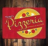 No Branded Pizzeria Schild, Pizzeria Dekor, Pizzeria Besitzer Geschenk, Pizza Lover Geschenk, Pizza...