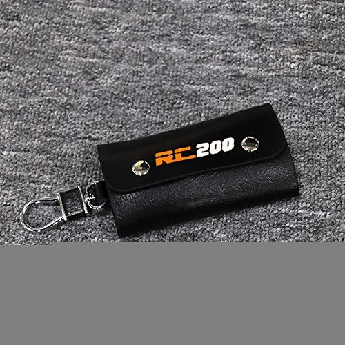 LIWENCUI- Motorrad-Schlüsselring-Halter-Kette Sammlung Keychain for KTM RC390 RC200 RC125 RC (Color : 23)