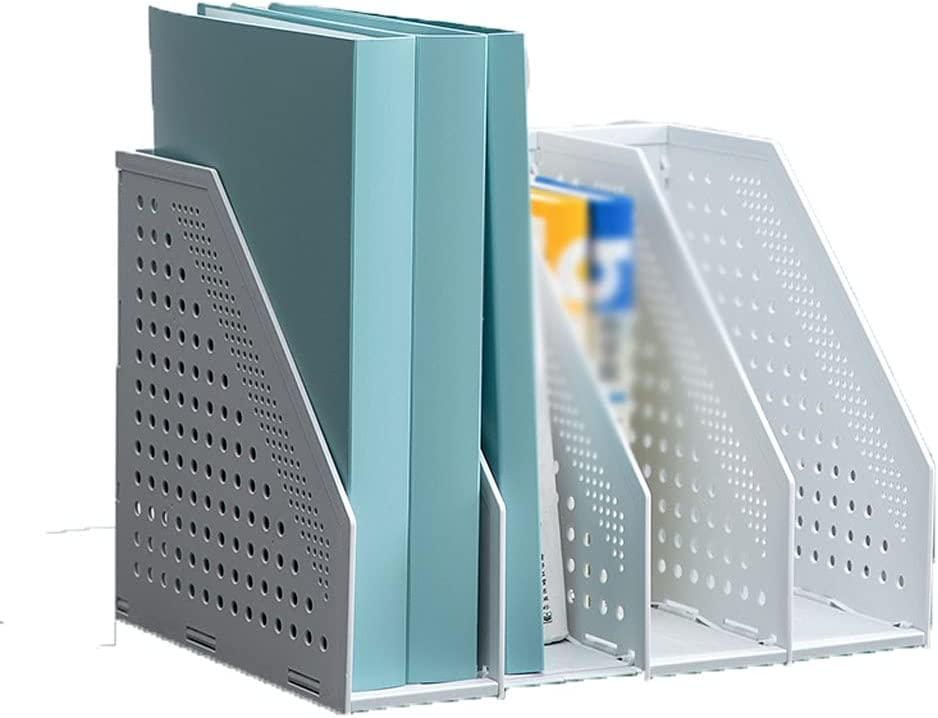 Office File Holder Racks Vertical Retractable Bombing new New product! New type work Magazine Rack