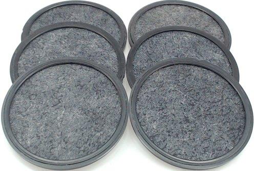 Mr. Coffee WFF-3 Coffeemaker Water Filter, 6 Pack (113035-001-000)