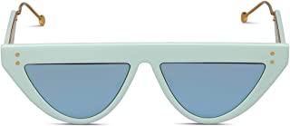 Fendi Men's FF0371S5CB3J Light Blue Acetate Sunglasses
