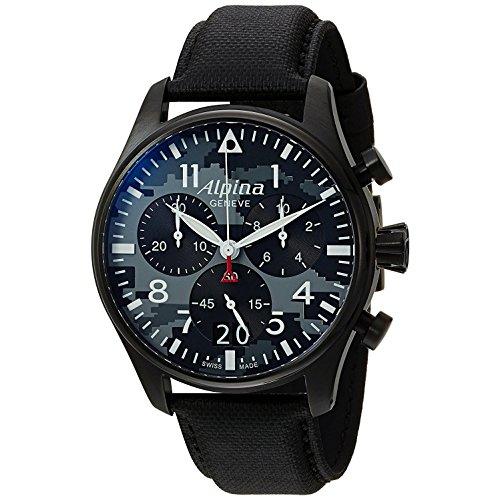 Alpina Schweizer Chronograph Startimer Pilot AL-372BMLY4FBS6