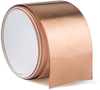 Samyoung Copper Foil Tape Shielding Tapes for Guitar Guitars - 6 feet X 50 mm (1.97