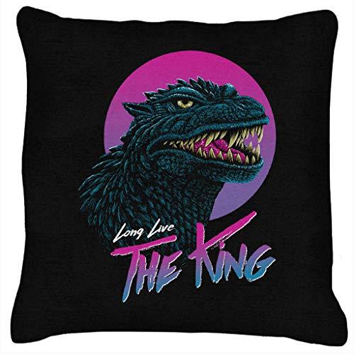 Lang leve de koning Godzilla kussen
