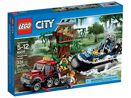 LEGO City Hovercraft Arrest 60071