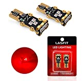LASFIT 921 912 W16W LED Third Brake Center High Mount Stop Light Bulbs, Red Light, Plug&Play