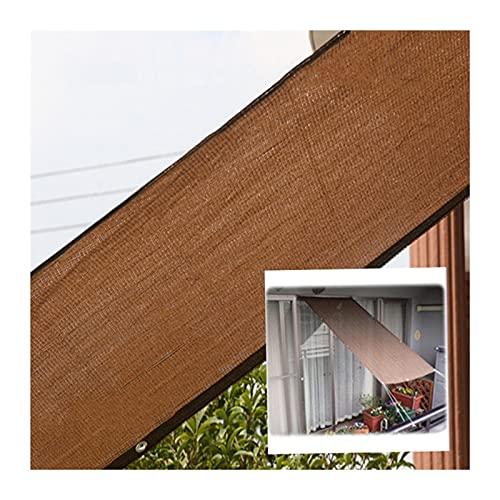 CHAOXIANG Rete Parasole, Rete Solare All'aperto Serra Pianta Cover Protettiva, Isolamento Termico Calmati Gommino, Multi-Dimensioni Personalizzabile (Color : A, Size : 4mX4m)