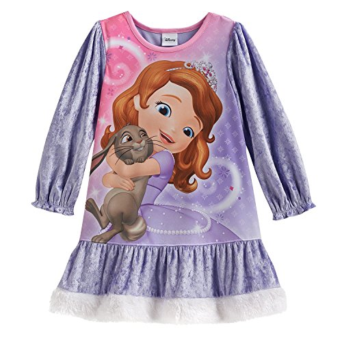 Disney Sofia The First Nuisette Violet 4 ans