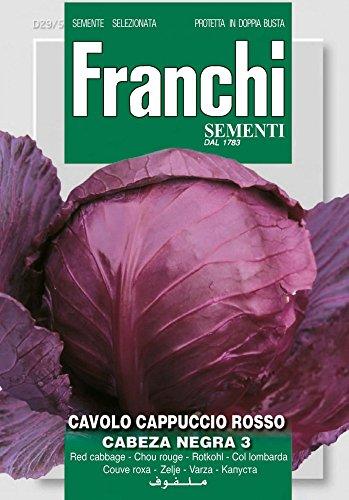 Franchi Sementi DBO29-5 Rotkohl Cabeza Negra 3 (Kohlsamen)